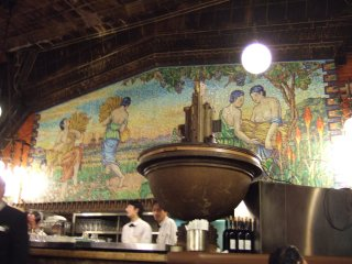 Mural in Beer Hall