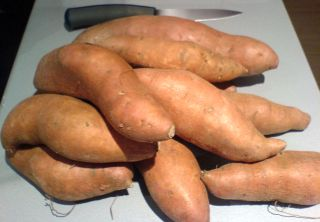 Lots of Sweet Potatoes