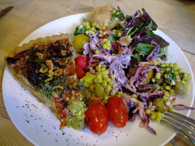 Bill's Quiche and Salad