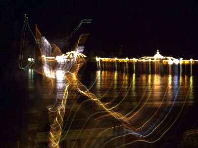 Brighton Pier - Long Exposure, Swirl and Ghost