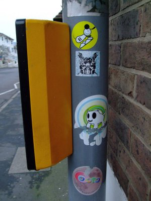 Graffiti - Dog Stickers