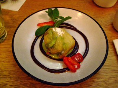 Deep Fried Macha Ice Cream - Oki Nami