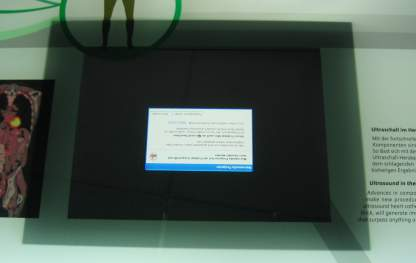 MS Crash in Siemens Museum