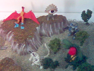 Destroy All Monsters Diorama