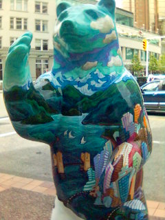 Vancouver has a kind of bear statue festival at the moment...