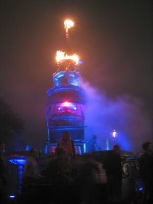 Fire Show DJ Tower