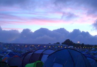 Good Morning Glastonbury!