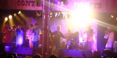 The Destroyers - Last band on stage at Glastonbury 2008