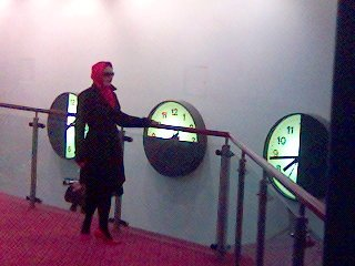 Red Lady (Warwick Arts Centre Clocks)