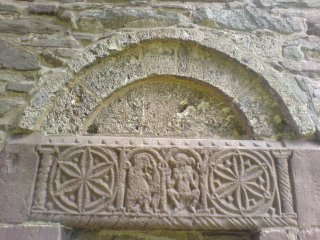 Carvings on Church Doorway