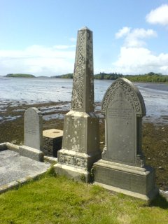 Gravestones by the sea - Donegal Friary