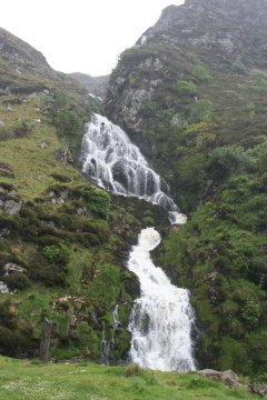 Waterfall on way to Maghera Strand