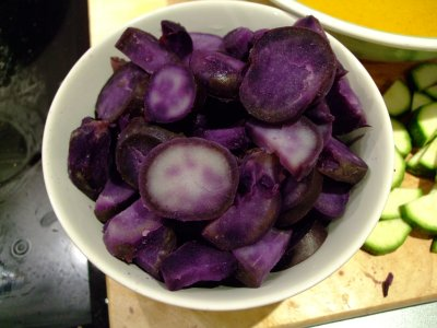 The Purple Potatoes