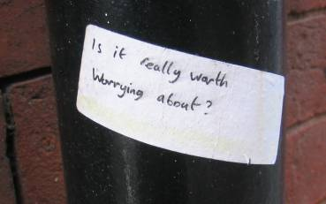 Is it really worth worrying about?